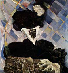 Max Ernst: Euclid, 1945.