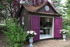 'She Sheds' Are The New 'Man Caves' For Women