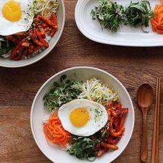 오징어콩나물비빔밥