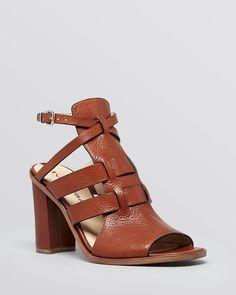 Via Spiga Open Toe Platform Sandals - Brandina High Heel | Bloomingdale's