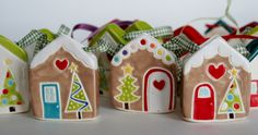 christmas ornaments in shop now at thelittlereddoor.etsy.com