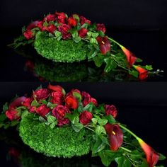 Dekoracja nagrobna Nr 411 – Greendeco – Source by Casket Flowers, Grave Flowers, Cemetery Flowers, Funeral Flowers, Grave Decorations, Flower Decorations, Funeral Floral Arrangements, Flower Arrangements, Ikebana