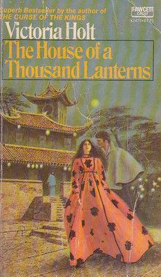 Holt Victoria House Of A Thousand Lanterns gothic romance / Ebay