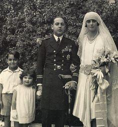 Boda de Fausto Saavedra, III marqués de viana, con Sofía Amelia de lancaster y Bleck.