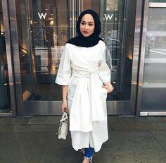 Pinned via #MrsRawabdeh |Mariaalia Modest Dresses, Modest Outfits, Modest Fashion, Hijab Fashion, Fashion Outfits, Women's Fashion, Modest Clothing, Chic Outfits, Prom Dresses