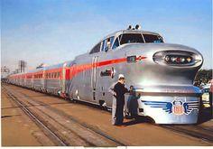Union Pacific GM Aerotrain.
