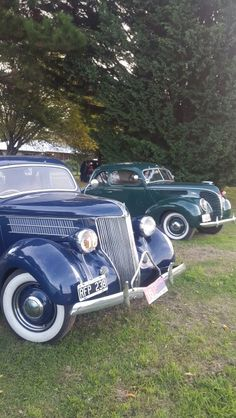 Ford coupes 36 y 38