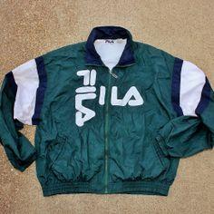 old school fila jacket