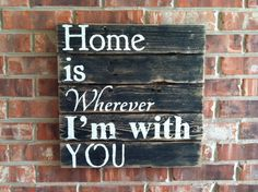 Home Is Wherever I'm With ... Cris <3