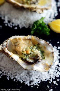 Gratinated Oysters / Überbackene Austern