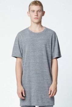 04187d07 NEW AUTHENTIC FOG FEAR OF GOD PACSUN HEATHER GREY BASIC T SHIRT TEE MEN'S  XL #