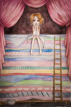 Princess and the Pea by BlackFurya on DeviantArt
