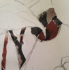 #lindaherrlin #skiss #collage #akvarell bild2
