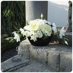 Kompozycja kwiatowa,florystyka,stroik