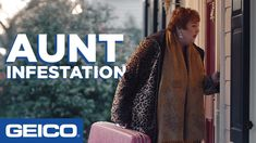 Aunt Infestation - GEICO Insurance - YouTube Workers Comp Insurance, Best Commercials, Passive Aggressive, Tv Ads, Figurative Language, New Homeowner, Critical Thinking, Middle School, Image Search