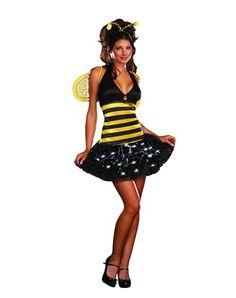 Costume bee adult bumble