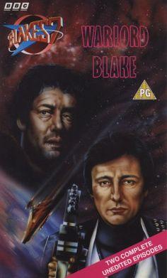 Blake's 7 VHS cover - Warlord/Blake Avant Garde Film, Sci Fi Tv Series, Alien Ship, Original Tv Series, Episodes Series, The Originals Tv, Fantasy Tv, Sci Fi Shows, Kids Shows