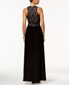 Nightway Sleeveless Lace Fit & Flare Gown $109.00 Redefine elegance in this flawless lace gown from Nightway. Add a sparkling bangle and sky-high heels and you're ready for your special night!