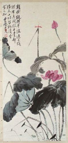 Plants    Chinese  20th century   Qi Baishi