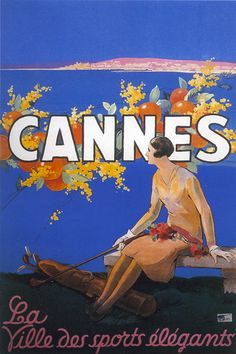 cannes vintage poster - Google Search