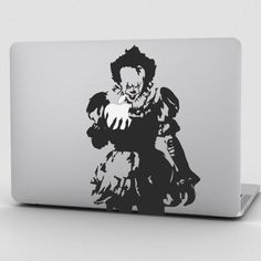 IT Pennywise laptop macbook decal by StickAzStore on Etsy