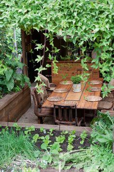 vignette design: Outdoor Dining Room Inspiration-secret dining