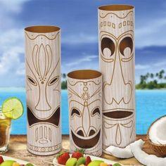 Tiki Totem Pole Centrepiece - Hawaiian - Party Themes A-Z - Kids' Party