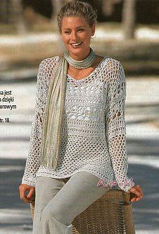 De tricotat.  Blouse, cârlig ..