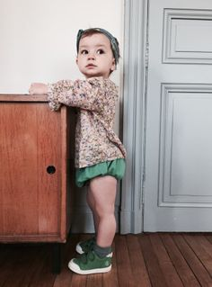 Basket 10IS - Blouse Caramel baby & child. Ledansla.