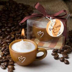 Coffee Cup Candles ($0.99 each)