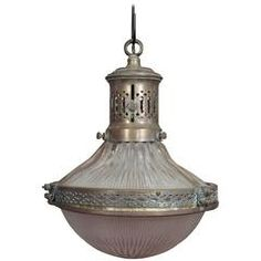 French 19th Century Industrial Pendant Light
