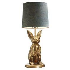 The Emily + Meritt Brass Bunny Table Lamp #pbteen