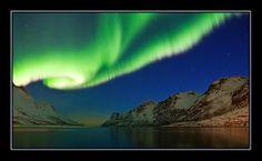 Aurora borealis in Tromso