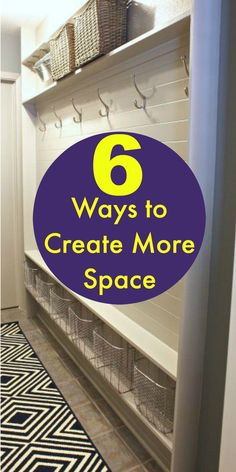 6 ways to create more space