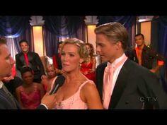 Jennie Garth and Derek Hough DWTS- Quickstep, Season 5, Week 2 - YouTube