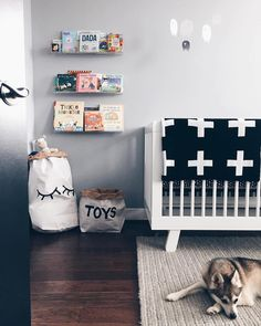 @babyletto on Instagram: md • #babyletto Hudson crib • : designed by mama @westofgeorgetown featuring her sweet furbabe @wimpyw0lf
