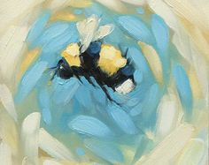 Cardinal peinture 6 x 6 peinture à lhuile dun par LaveryART sur Etsy