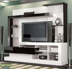 How and where to make a modern TV cabinet design? Modern Tv Cabinet, Modern Tv Wall Units, Tv Cabinet Design, Tv Wall Design, Tv Unit Furniture, Furniture Design, Modular Furniture, Modern Furniture, Living Room Tv Unit Designs