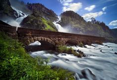 Photograph Latefossen waterfalls by Stephen Emerson on 500px