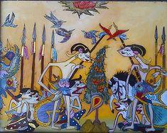 Wayang Beber Dais Kurniawan S Collection Of 30 Indonesian Art Ideas