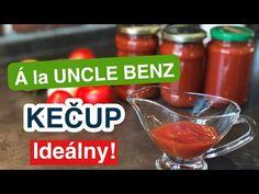 (42) Kečup á la UNCLE BENZ. Domácí kečup bez jablk. - YouTube Benz, Jar, Youtube, Food, Jars, Youtubers, Meals, Youtube Movies, Glass