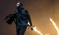 Canadian rapper Drake at Wireless festival 2015, London