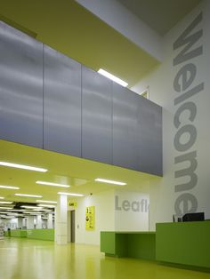 Barking Learning Centre- Wall Graphics/Wayfinding