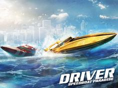 Driver Speedboat Paradise App by Ubisoft. Racing Game Apps.