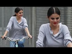 Selena Gomez Enjoys Bike Ride After Breakup With The Weeknd & Justin Bieber Reunion #selenagomez