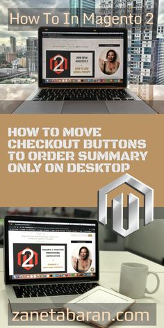 Learn how to quickly move checkout buttons to order summary only on desktop in Magento 2 project. Detailed tutorial for every frontend developer. Summary, Web Development, Stuff To Do, Desktop, Buttons, Technology, Learning, Design, Tech