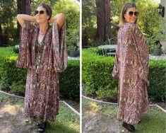 12 Ways to Rock Your Kimono - Ask Suzanne Bell Agoraphobia, We Wear, How To Wear, White Kimono, Japanese Kimono, Kimono Fashion, Long Cardigan, White Tank, Summer Looks
