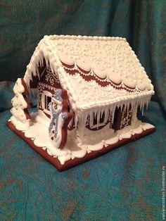 Купить пряничный домик - пряничный домик, пряничный сувенир, новогодний подарок…
