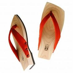 Picture of Mizutori Wood Sandals (Men) 1019588208 (Sandals, Mizutori Shoes, Japan Shoes, Mens Shoes, Mens Sandals)