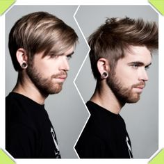Multifunctional hair cuts for men.